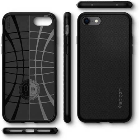 Etui silikonowe SPIGEN SGP Liquid Armor iPhone 7/8 4,7 cala, czarne
