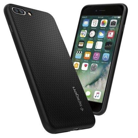 """Etui silikonowe SPIGEN SGP Liquid Armor iPhone 7 Plus/8 Plus 5.5"""" czarne"""