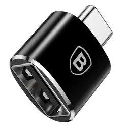Adapter BASEUS ADAPTER TYPE-C TO USB/OTG BLACK