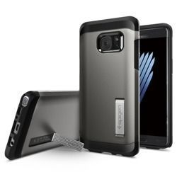 Etui SPIGEN SGP TOUGH ARMOR do Samsung Galaxy Note FE / Note 7 szary