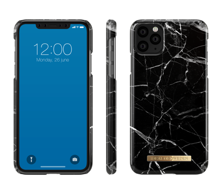 [NZ] iDeal Of Sweden - etui ochronne do iPhone 11 Pro Max (Black Marble)