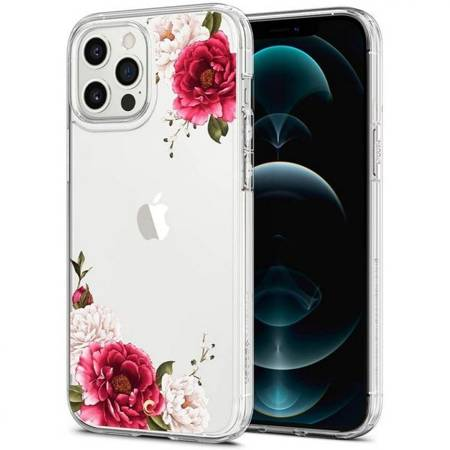 ETUI SPIGEN CYRILL CECILE DO IPHONE 12 PRO MAX RED FLORAL