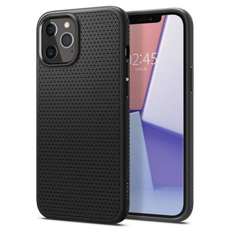 ETUI SPIGEN LIQUID AIR DO IPHONE 12 PRO MAX MATTE BLACK