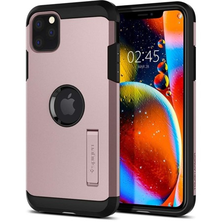 ETUI SPIGEN TOUGH ARMOR IPHONE 11 PRO ROSE GOLD