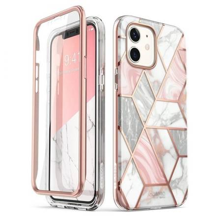ETUI SUPCASE COSMO DO IPHONE 12 MINI MARBLE