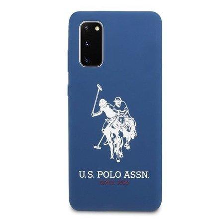 ETUI U.S. POLO ASSN. SILICONE COLLECTION DO SAMSUNG GALAXY S20 (NAVY BLUE)