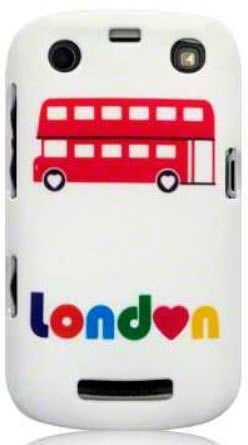 Etui Call Candy do Blackberry 9360 Curve London Bus - żelowe