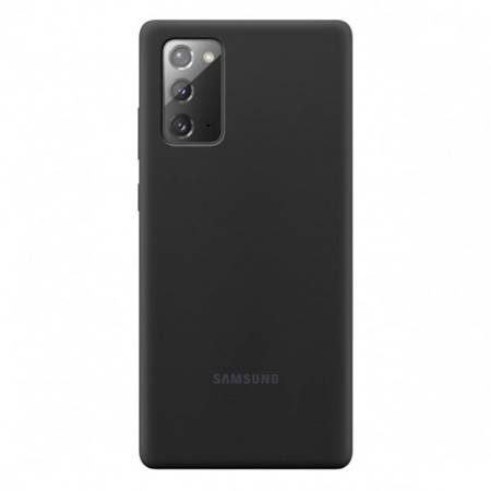 Etui Do Samsung Note 20 Black Silicone Cover
