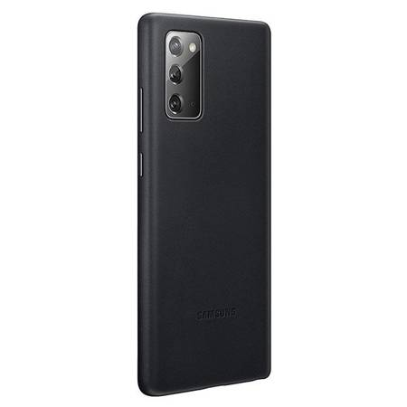 Etui Do Samsung Note 20, Czarny, Leather Cover