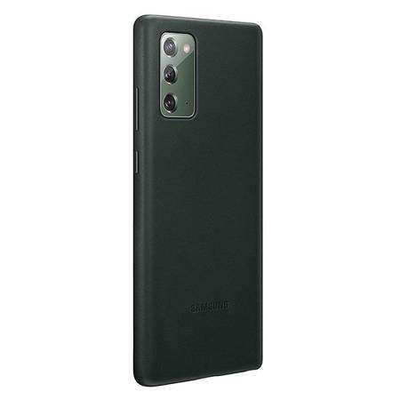 Etui Do Samsung Note 20, zielony, Leather Cover