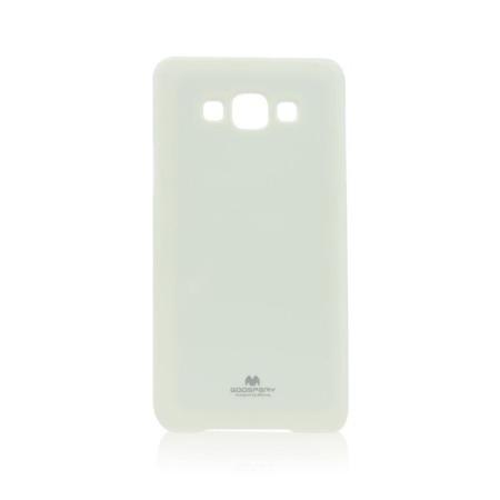 Etui Goospery Jelly Mercury do Samsung Galaxy A7 gumowe - białe