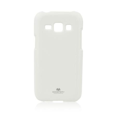 Etui Goospery Jelly Mercury do Samsung Galaxy J1 - biały