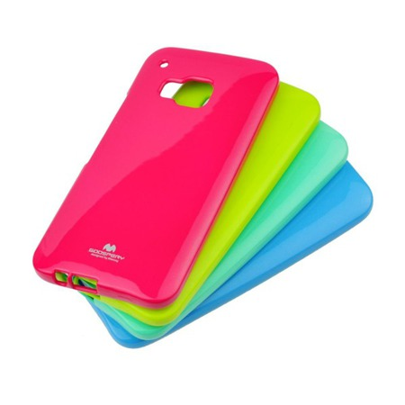 Etui Goospery Jelly Mercury do Samsung Galaxy J1 - różowy