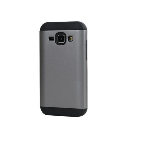 Etui HYBRID case do Samsung Galaxy J1 szary