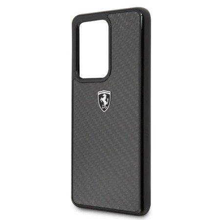 Etui Hardcase Ferrari Do Samsung S20 Ultra, Czarny