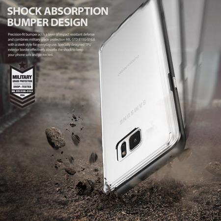 Etui Ringke Frame Black do Samsung Galaxy Note FE / Note 7