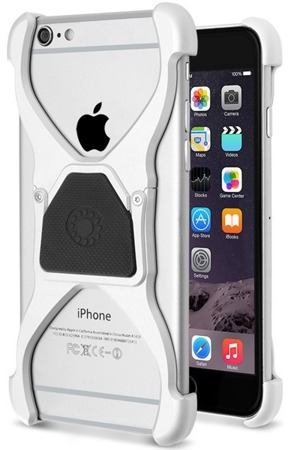Etui Rokform Predator do Apple iPhone 6 / 6S aluminiowe naturalne