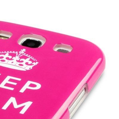 Etui Terrapin Samsung i9300 Galaxy S3 - różowy