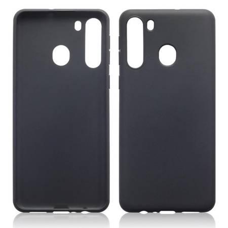 Etui Terrapin do Samsung Galaxy A20s żelowe czarne matowe