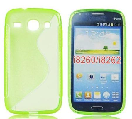 Etui do Samsung Galaxy Core I8260 jasny zielony