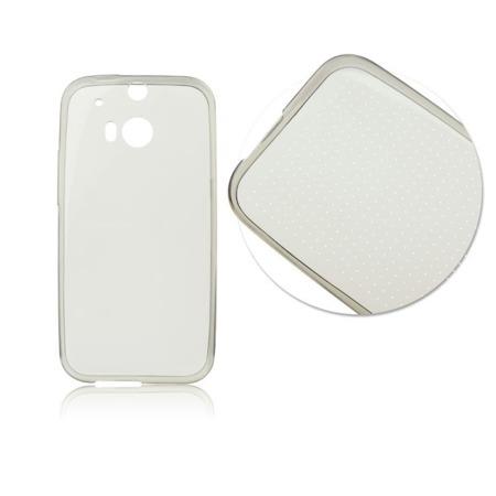 Etui silikonowe do HUAWEI Y635 ultra cienkie - przydymione przeźroczyste