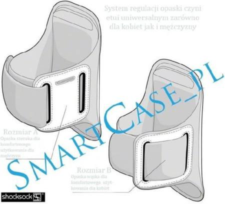 Etui sportowe Shocksock Samsung i9190 Galaxy S4 Mini czarny