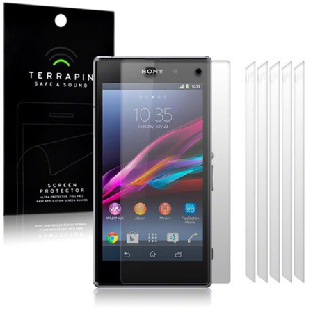 Folia ochronna Terrapin do Sony Xperia Z1 - 6 Pack