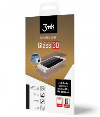 Hybrydowe szkło 3MK Flexible Glass 3D Matte-Coat do Huawei Mate 8 - 1 szt. na przód i 1 szt. matowa na tył