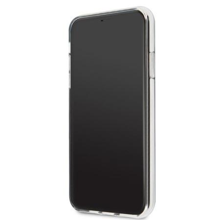 KARL LAGERFELD ICONIC KARL - ETUI IPHONE 11 PRO MAX (SILVER GLITTER)