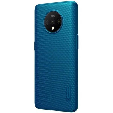 NILLKIN SUPER FROSTED SHIELD - ETUI ONEPLUS 7T (PEACOCK BLUE)