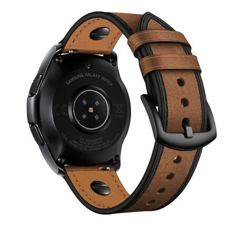PASEK TECH-PROTECT LEATHER DO GALAXY WATCH 3 45MM