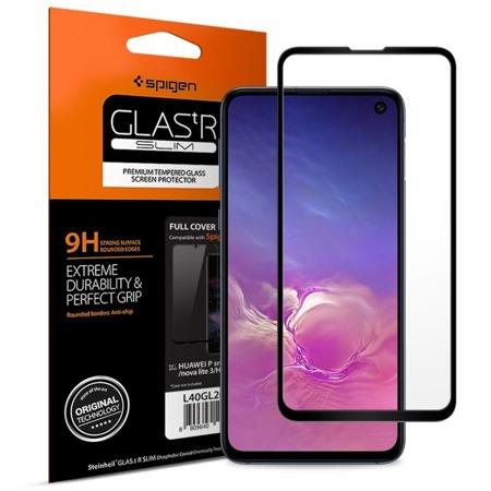 Szkło hartowane SPIGEN SPIGEN GLASS FC do Samsung Galaxy S10e czarne