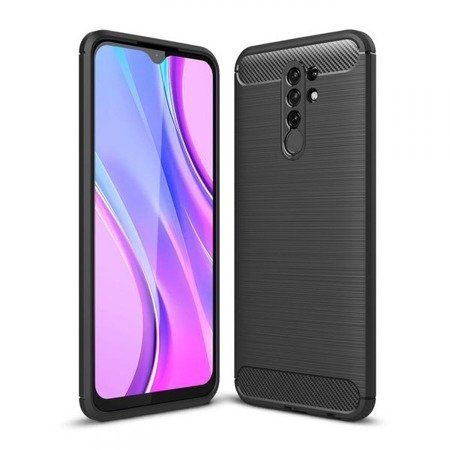 TECH-PROTECT TPUCARBON XIAOMI REDMI 9 BLACK