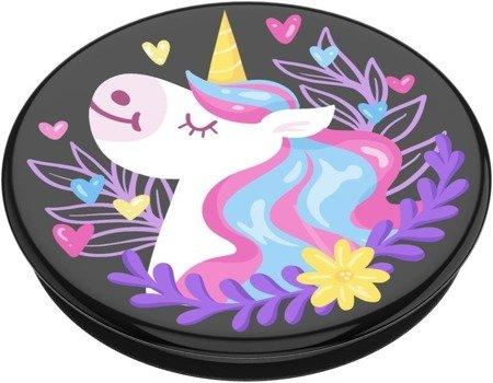 Uchwyt do selfie na telefon PopSockets 2-generacji - Unicorn Day Dreams Black Gloss